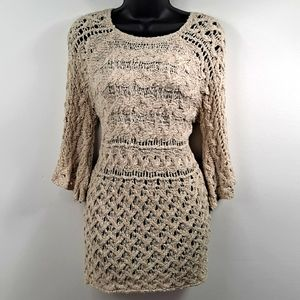 Gently Worn! Easel Oatmeal Sweater S/M